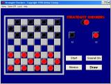 Swift Classics Board Games Windows Strategist Checkers : This i sthe start of a game. Player(s) click to select / deselect a piece and then click on the square to move it to