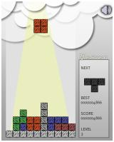 Heaven Browser A normal game of <i>Tetris</i>