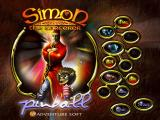 Simon the Sorcerer's Pinball Windows The game's configuration menu and start screen
