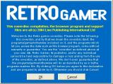 Retro Gamer Issue 6 Windows The Welcome screen plus legal stuff