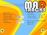 Mad Tracks Windows This is the options screen, mainly useful to change screen resolution (French)