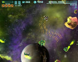 Asteroids Online Browser Shooting down some aliens and rocks