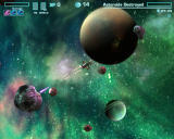 Asteroids Online Browser Using lasers and rail gun