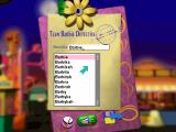 Detective Barbie: The Mystery Of The Carnival Caper! Windows The game documentation has this listed as a feature. The game 'knows' 50,000 names. Type it in and click on the speaker icon to hear the name spoken. I looked but Moby wasn't there
