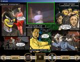 "Reflux: Issue.01 - ""The Becoming"" Windows 3.x The top centre storyboard panel has triggered digital video!"