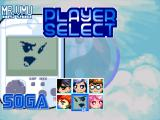 Wind and Water: Puzzle Battles Dreamcast Select your player (arcade mode).