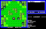 Ultima IV: Quest of the Avatar PC-88 Terrain specifications lead to different strategies during the battles