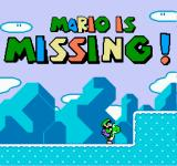 Mario is Missing! NES Well... if Mario is Missing, I guess it's all up to Luigi then...
