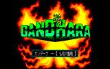 Gandhara: Buddha no Seisen PC-88 Title screen