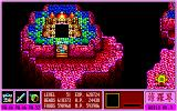 Gandhara: Buddha no Seisen PC-88 High-level hero outside of a gorgeous palace