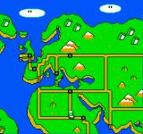 Mario is Missing! NES This is what the world looks like. There's only so many locations you'll end up.