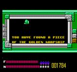 Solar Jetman: Hunt for the Golden Warpship NES The Golden Warpship has been divided into pieces for safekeeping...