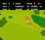 Bandai Golf: Challenge Pebble Beach NES Hole 2