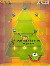 Cut the Rope iPad Sure, dropping the candy is easy, but can you get all those stars?..
