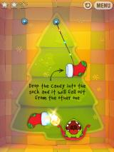 Cut the Rope iPad Christmas socks act as teleporters. Very... err... original :)