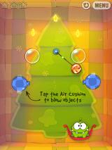 Cut the Rope iPad Air cushions can blow the candy away!