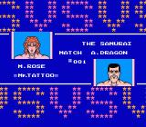 Tecmo World Wrestling NES Rose Vs. Dragon: Payback