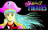 Pink Shock Pirates PC-98 Title screen