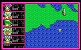 Pink Shock Pirates II PC-98 Sailing! What is that strange structure over there?..