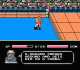 Tecmo World Wrestling NES Cobra Twist