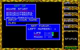 Hydlide II: Shine of Darkness PC-88 Character creation