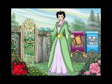 Magic Fairy Tales: Barbie As Rapunzel Windows Celinda's garden is the game's menu. The gate exits the game, the red rose starts the story and the pink rose starts the game. The blue banner starts the picture section