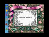 Magic Fairy Tales: Barbie As Rapunzel Windows The first screen of the picture section. The icons on the left are standard throughout the story.