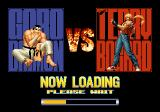 The King of Fighters '96 SEGA Saturn Loading screen