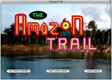 The Amazon Trail Macintosh Menu