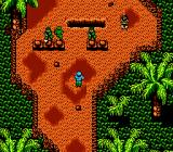 Guerrilla War NES Soldiers can appear also from that pit