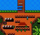 Guerrilla War NES You get minus points every time you kill an innocent