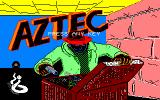 Aztec PC-88 Title screen