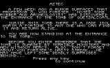 Aztec PC-88 The story...