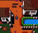 Guerrilla War NES Now I'm riding a tank through the town!