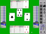 Bridge Master DOS Game Play