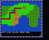 Phantasie MSX World map