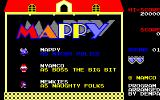 Mappy PC-88 Main menu
