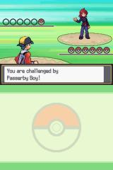 Pokémon SoulSilver Version Nintendo DS First encounter with the rival.