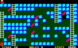 Mole Mole PC-88 The levels get more and more complex
