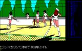 Tenshitachi no Gogo PC-88 Girls playing tennis