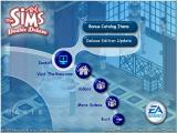The Sims: Complete Collection Windows The menu of the Sims Deluxe Bonus Disc