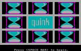 Quink DOS Title screen (CGA)
