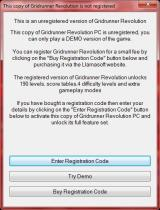 Gridrunner Revolution Windows The Shareware notice