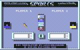 International Sports Challenge Commodore 64 Main menu