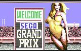 Super Monaco GP Commodore 64 I feel welcomed.