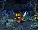 Guardian Heroes SEGA Saturn The Golden Warrior will be fighting by your side.