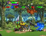 Guardian Heroes SEGA Saturn I went to the forest.