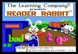 Reader Rabbit Apple IIgs Title screen