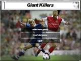 Giant Killers Windows This menu is displayed when the game loads