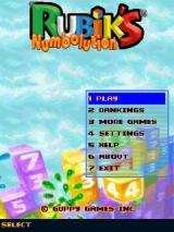 Rubik's Numbolution J2ME Main menu
